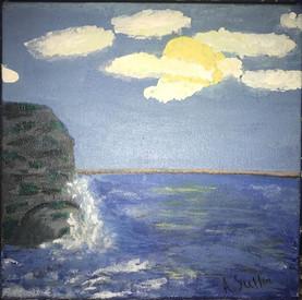 Acrylic Seascape