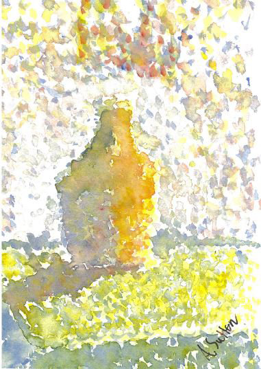 """The Bottle"" - Quality Art Print"