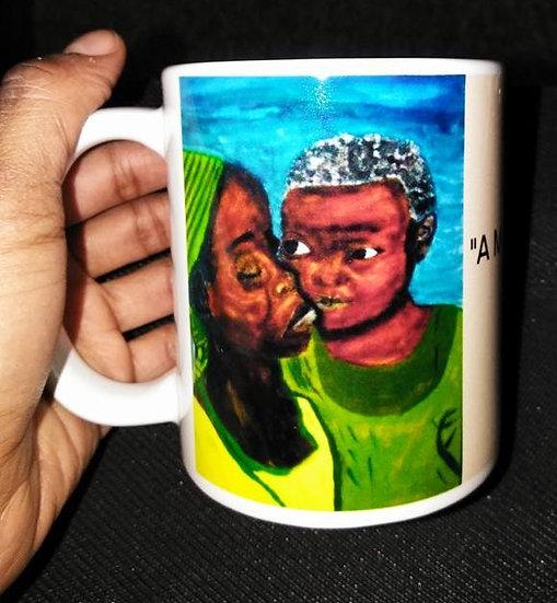 """""""A Mother's Love"""" coffee mug"""