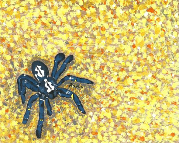 """Blue Tarantula"" - Quality Art Print"