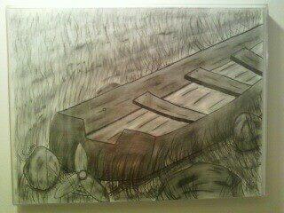 Charcoal/Pencil drawing