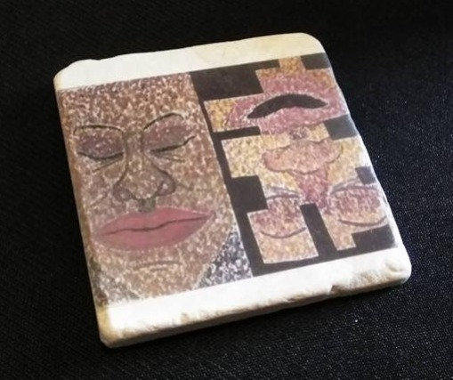 """Afrocentric""- table coaster**"