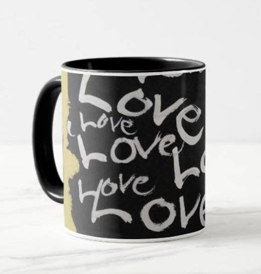 """All about Love"" coffee mug"