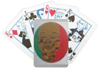"""""""Shades of Brown"""" Playing Cards"""