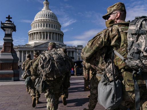 All National Guard members removed from inauguration duty because they voted for Trump