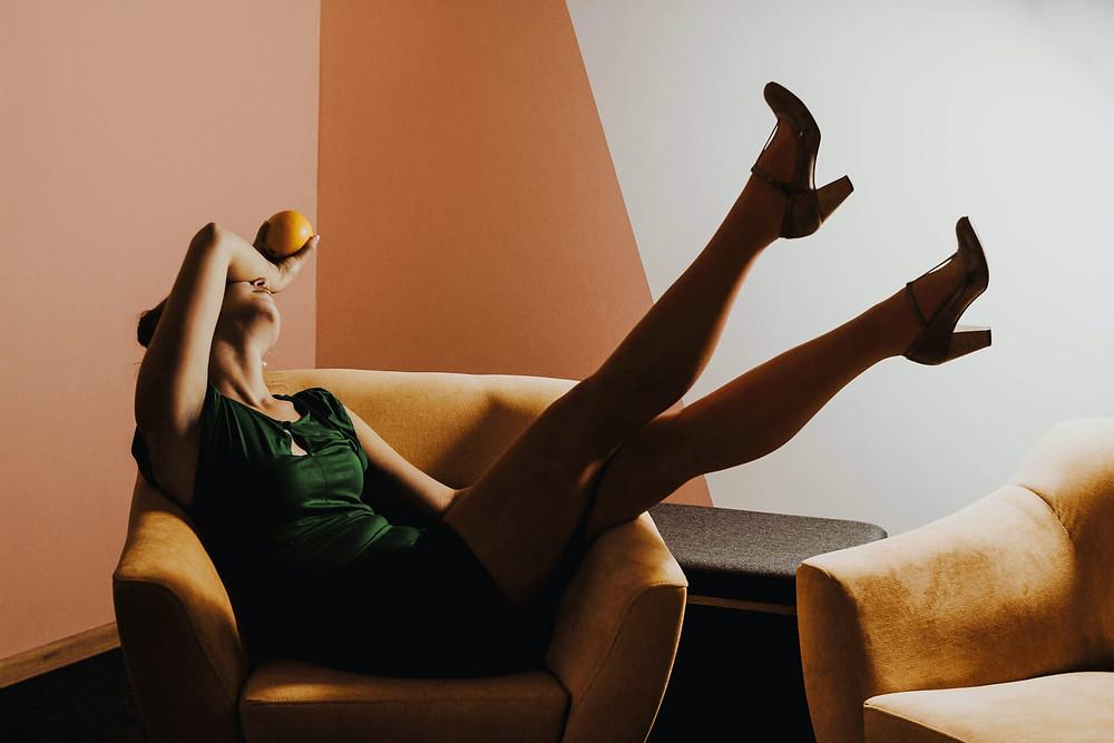 Photo jambes lourdes œdèmes insuffisance veineuse et lymphatique