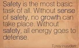 An Inner Sense of Safety