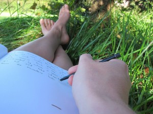 Journaling is a peaceful practice of self-reflection