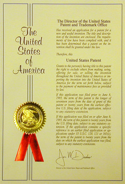 Issued Patents