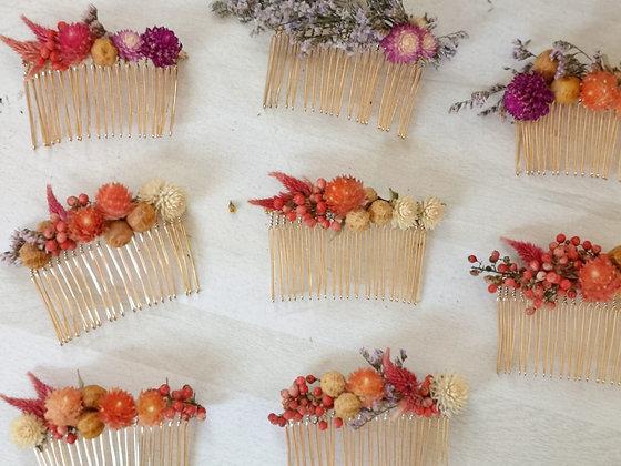 מסרקיות פרחים מיובשים