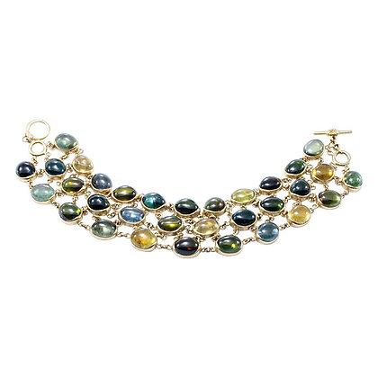 Multi-color Tourmaline Bracelet