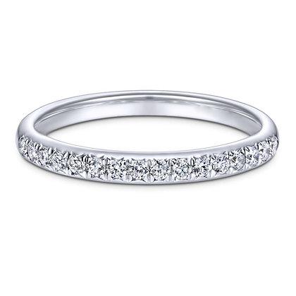 Pavé Diamond Wedding Band