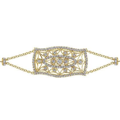 """""""Vintage"""" Open Filigree Bracelet"""