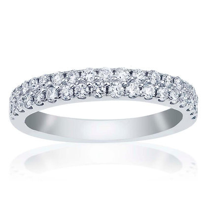 2-Row Diamond Band