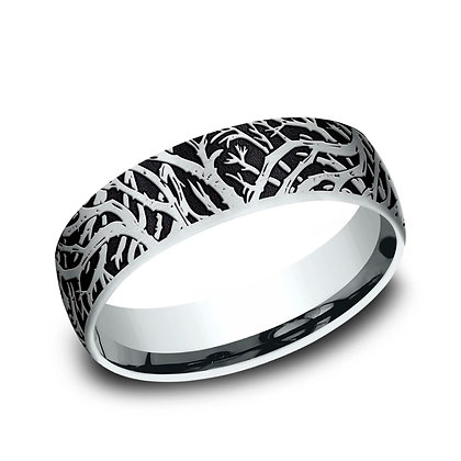 Enchanted Forest Wedding Band