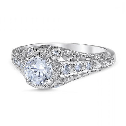 """Vintage"" Style Engagement Ring"
