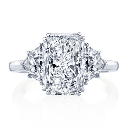 Cadillac Diamond Sides Semi-Mount Engagement Ring