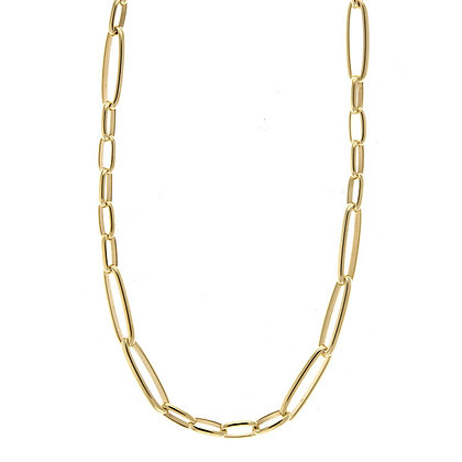 Mixed Link Chain Necklace