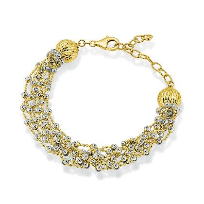 6-Strand Tassel Bracelet
