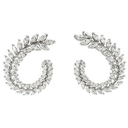 Diamond Wreath Earring