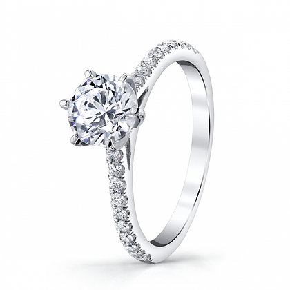 6-Prong Engagement Ring