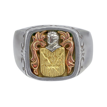 """""""Coat of Arms"""" Ring"""