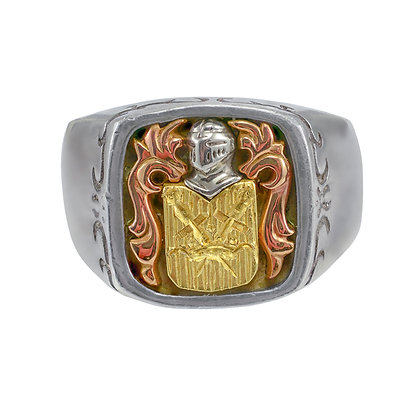 """Coat of Arms"" Ring"