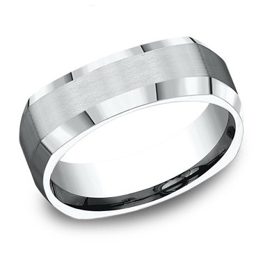 4-Sided Men's Wedding Band