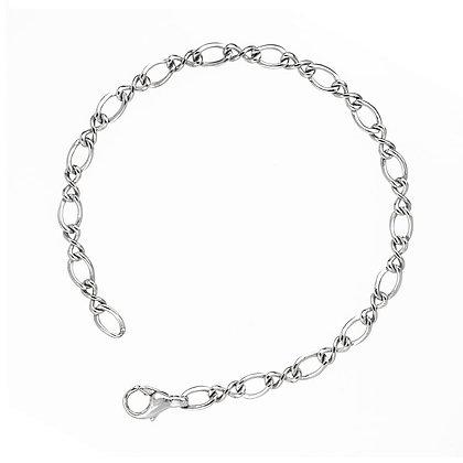 Mixed Fancy Links Bracelet
