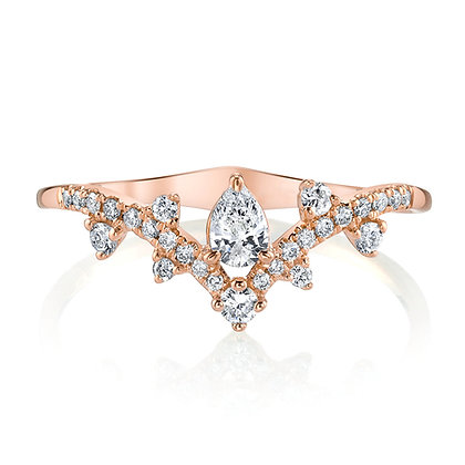 Arched Diamond Band