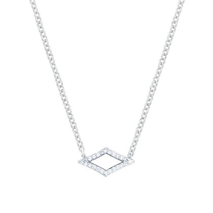 Diamond Marquise-shape Necklace