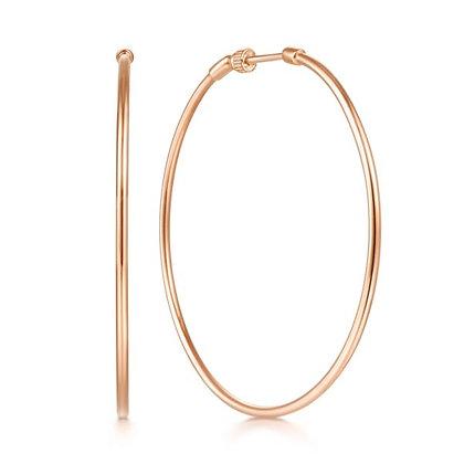 50mm Screwback Hoop Earrings