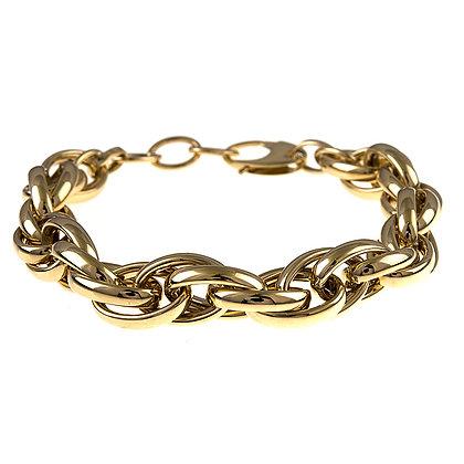 Shiny Mixed Links Bracelet