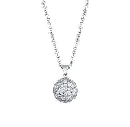 Pavé Diamond Pendant