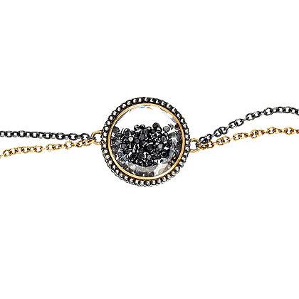 Black Diamond Shaker Bracelet