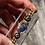 Thumbnail: Sapphire & Blue Spinel Black Enamel Shaker Bracelet