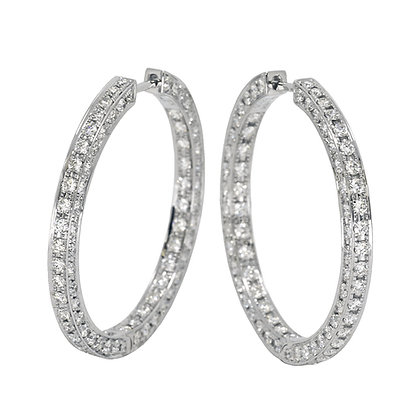3-Sided Diamond Hoops