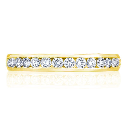 Channel Set Diamond Women's Wedding Band