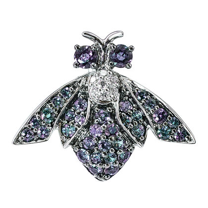 Alexandrite Firefly Brooch/Pendant