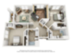 7100 Unit C - 3D 2 bed2bath.jpg