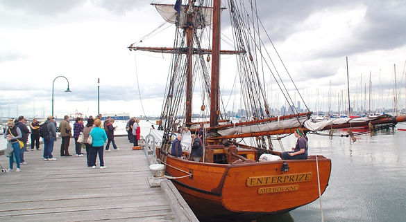 Enterprize Tall Ship | One Hour Day Sails