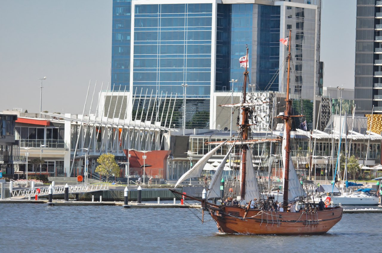 Sailing in Docklands