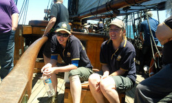 Volunteers on Australia Day 2012