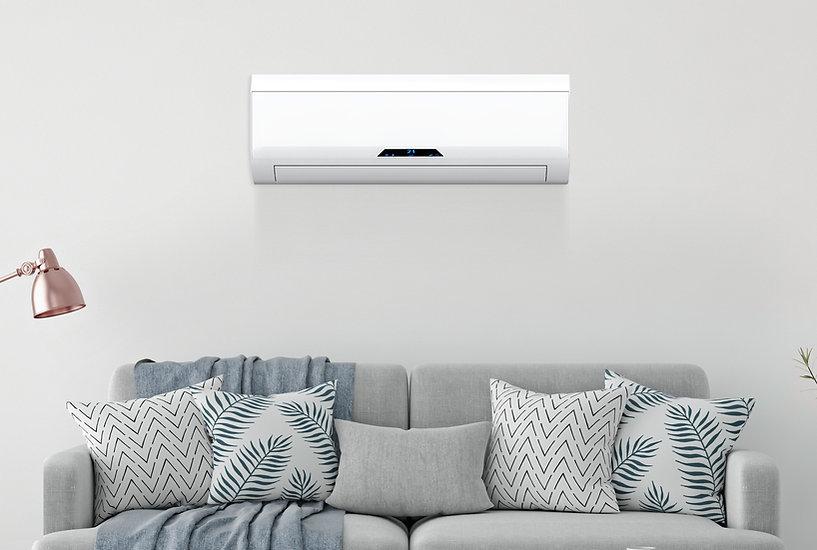 Klimaanlage mit Couch