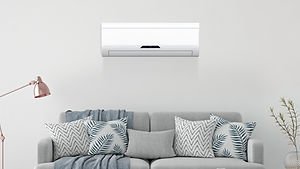Air conditioning installation.