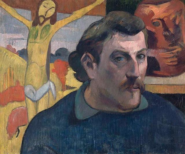 Gauguin, le Christ jaune (exposition Les Nabis au Musée Mitsubishi, 2017)
