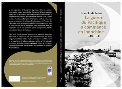 Publication de mon livre « La guerre du Pacifique a commencé en Indochine »