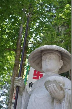 弘法大師石像