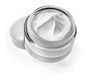 Cosmetic cream isolated on white .jpg