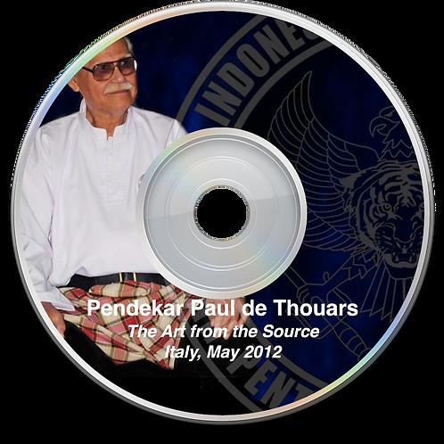 Pendekar Paul de Thouars - Italy Seminar 2012
